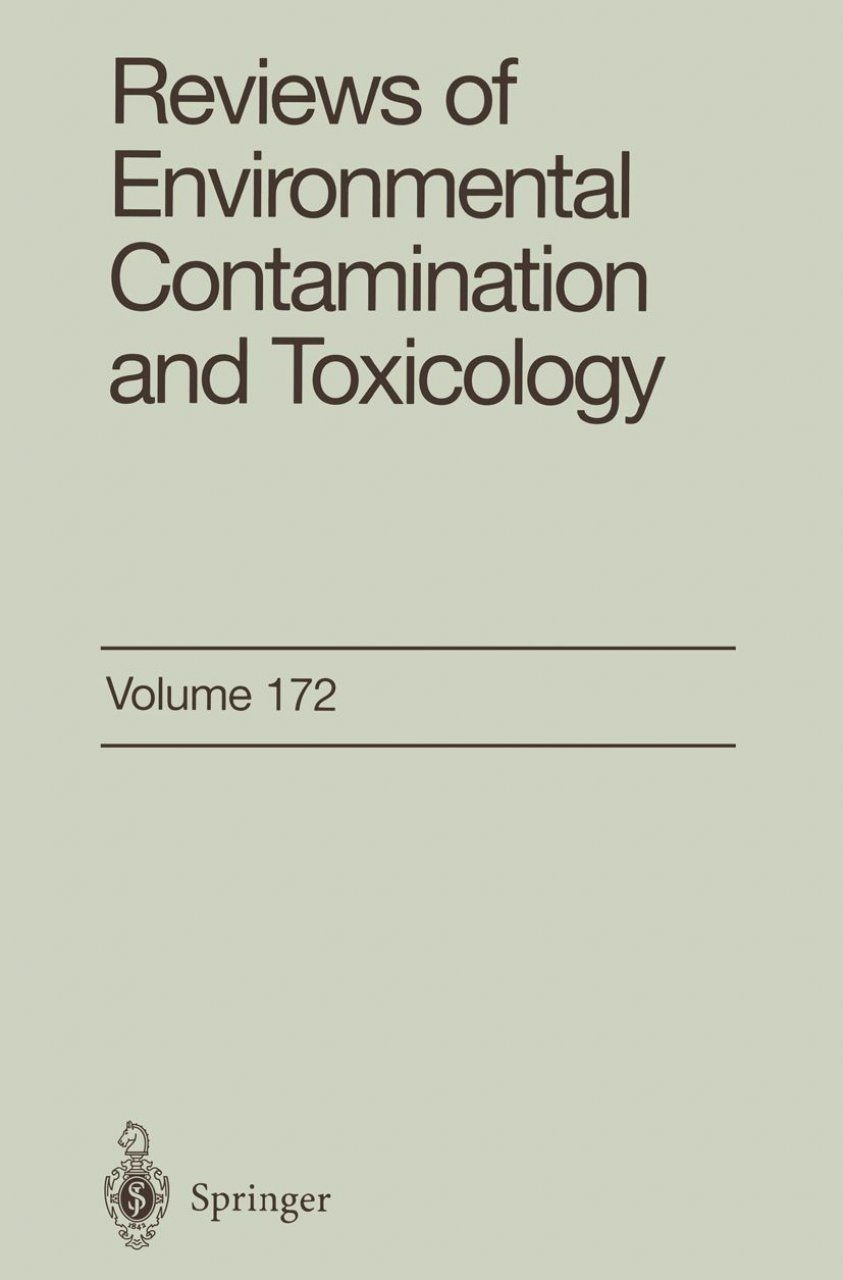 Reviews of Environmental Contamination and Toxicology, Volume 172