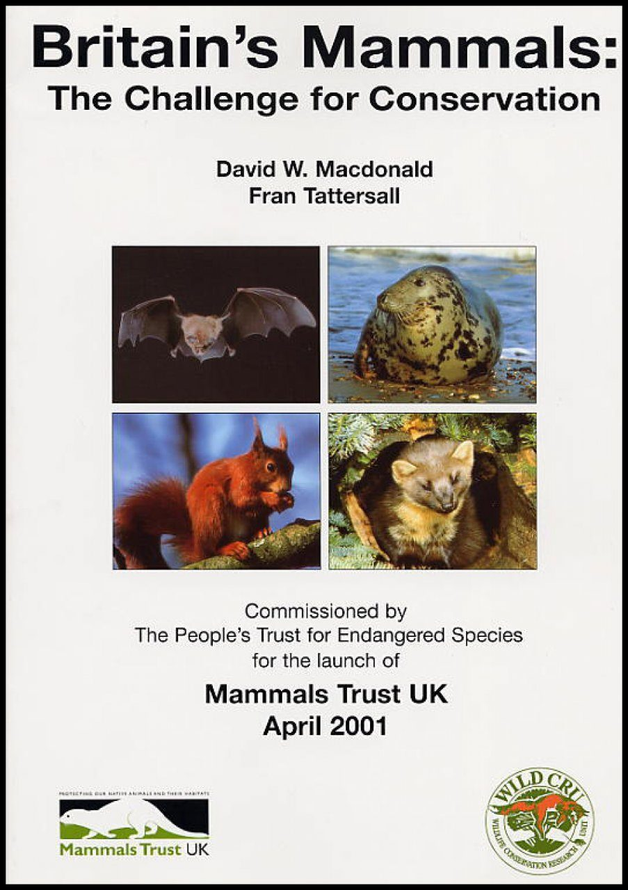 Britain's Mammals: The Challenge for Conservation