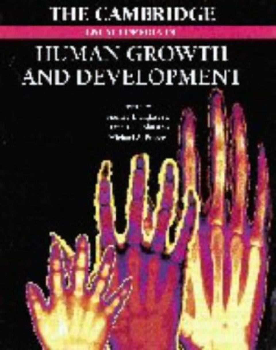 The Cambridge Encyclopedia of Human Growth and Development