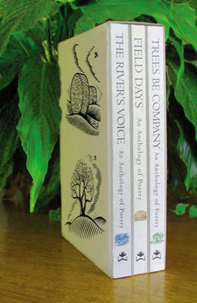 Trees, Rivers and Fields: A Set of Three Poetry Anthologies