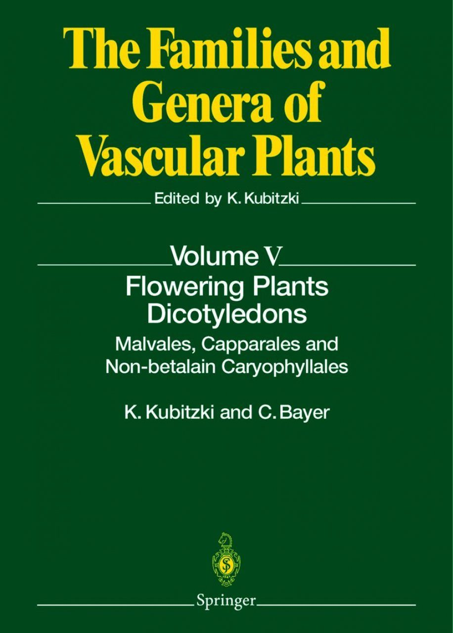 The Families and Genera of Vascular Plants, Volume 5