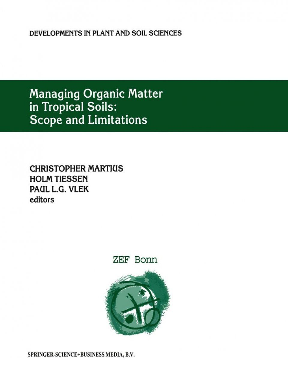 Managing Organic Matter in Tropical Soils