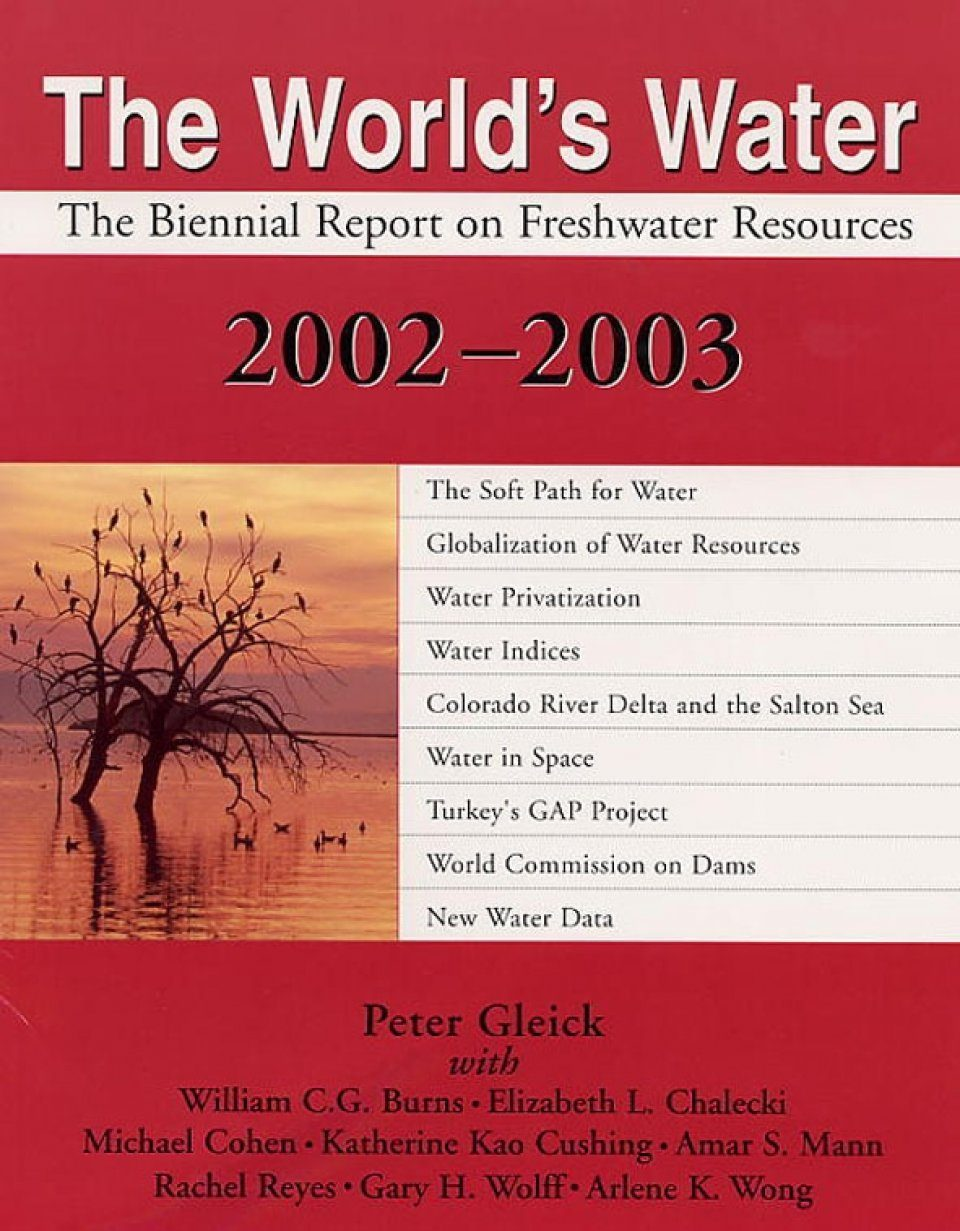 The World's Water 2002-2003