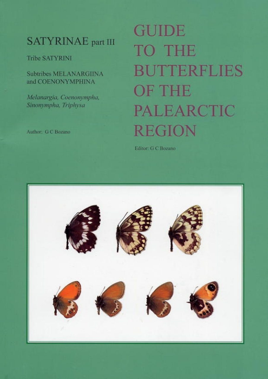Satyrinae Part 3 (Guide to the Butterflies of the Palearctic Region)