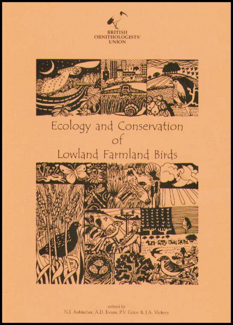 Ecology and Conservation of Lowland Farmland Birds 1