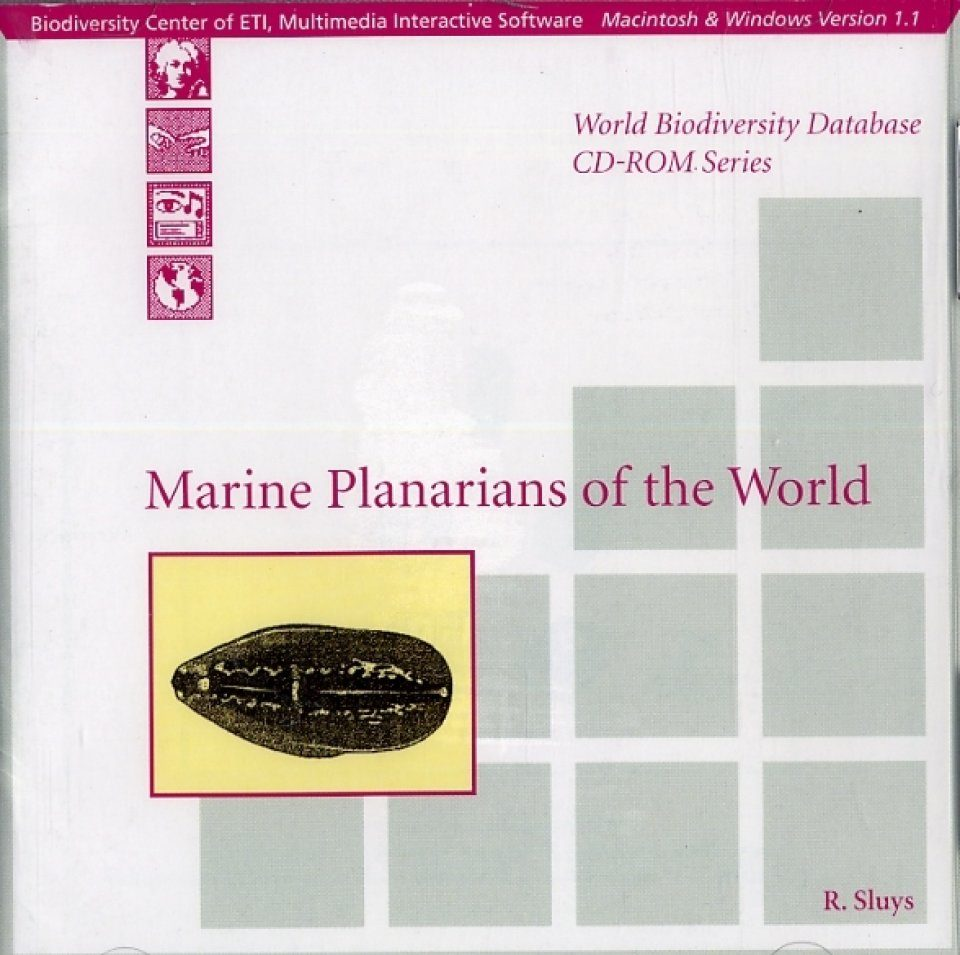 Marine Planarians of the World (CD-ROM)