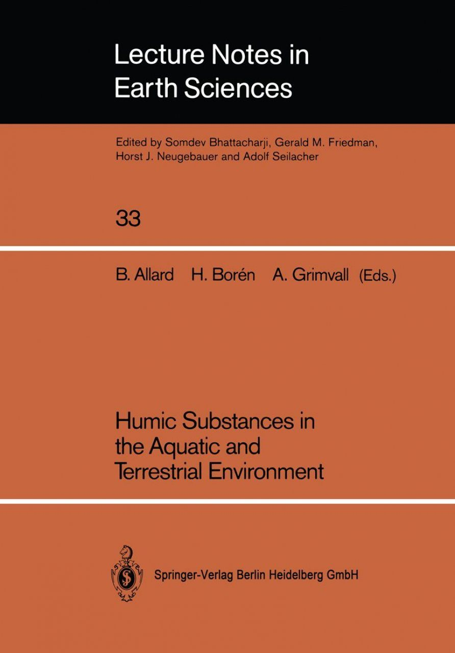 Humic Substances in the Aquatic and Terrestrial Environment