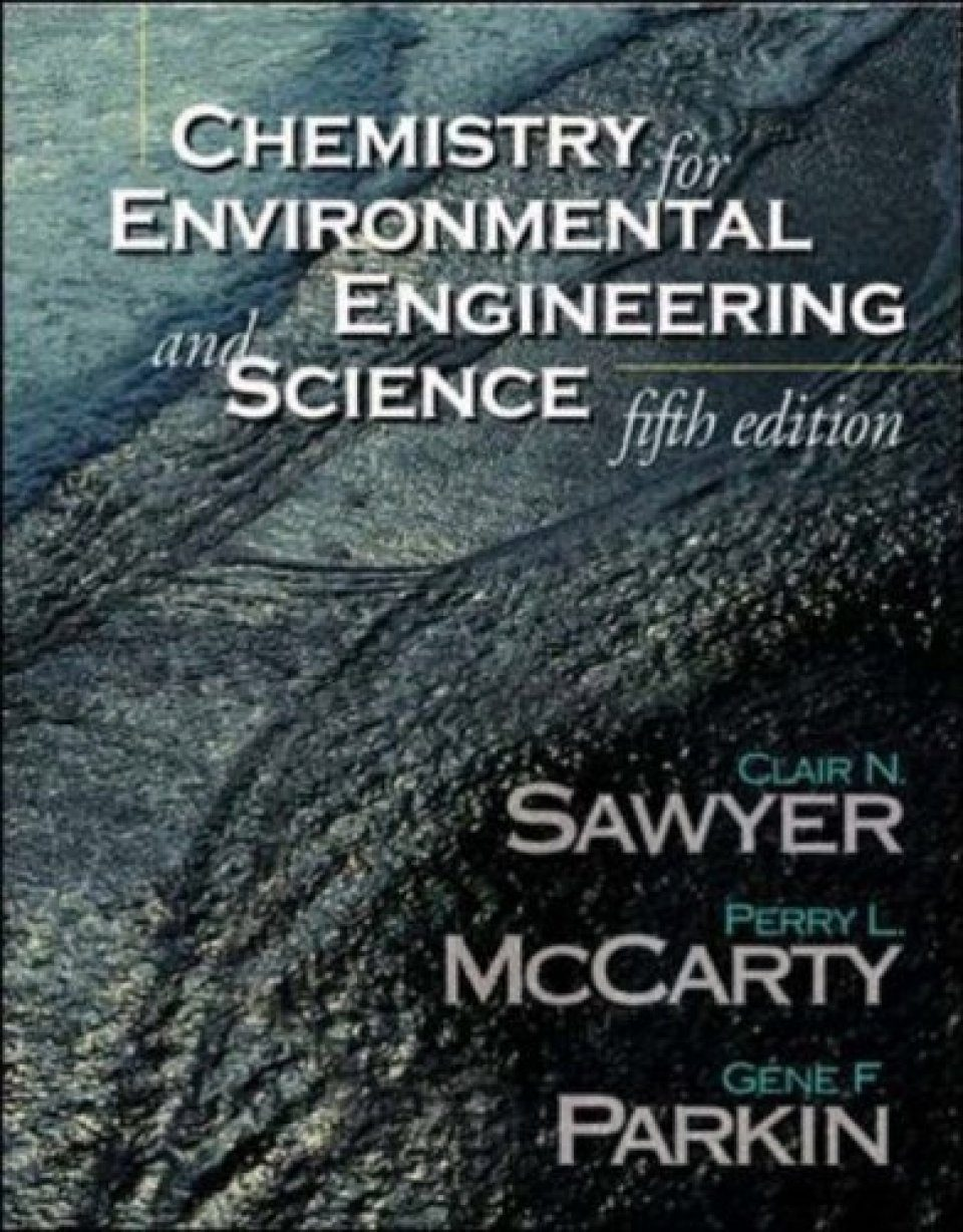 Chemistry for Environmental Engineers