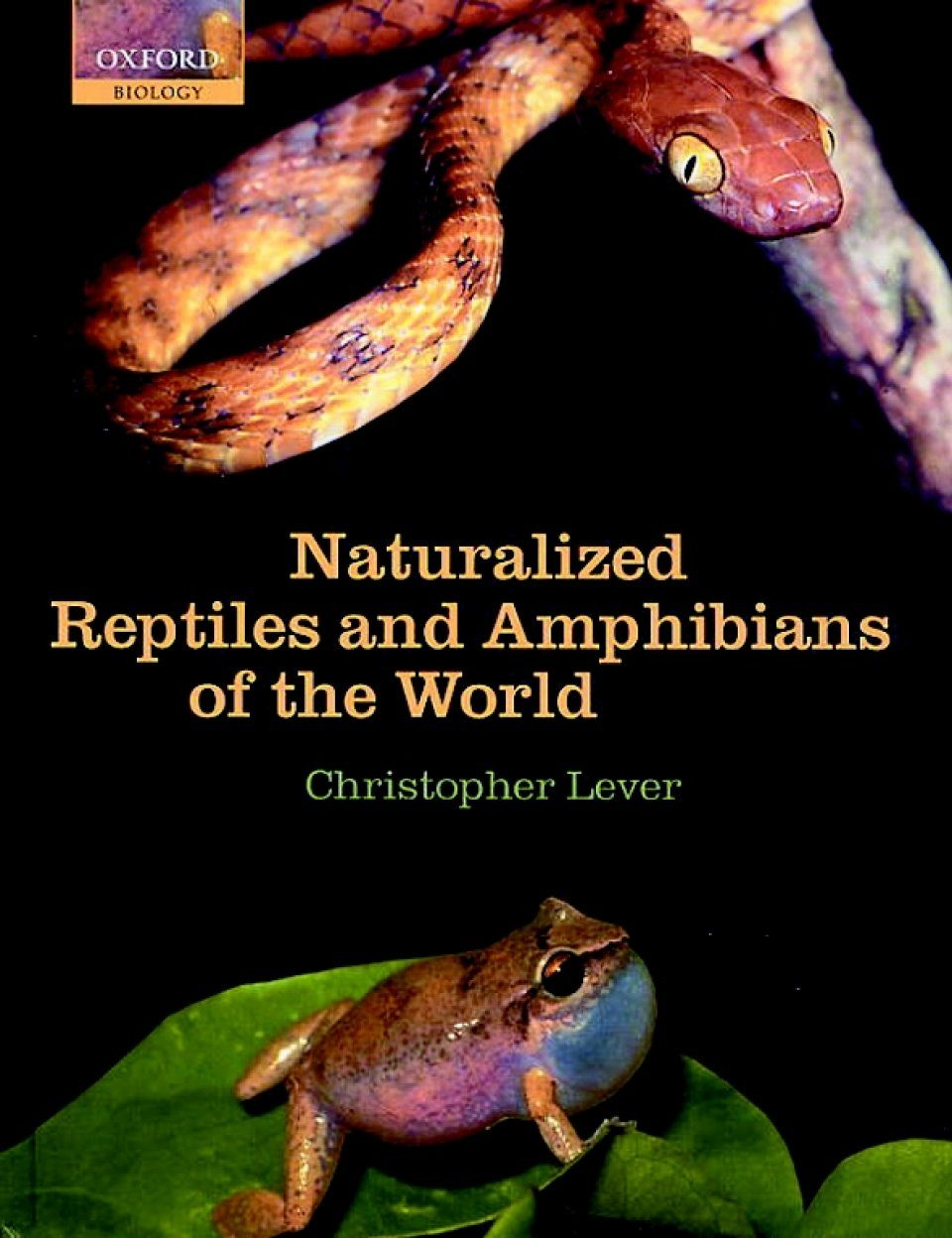 Naturalised Reptiles and Amphibians of the World
