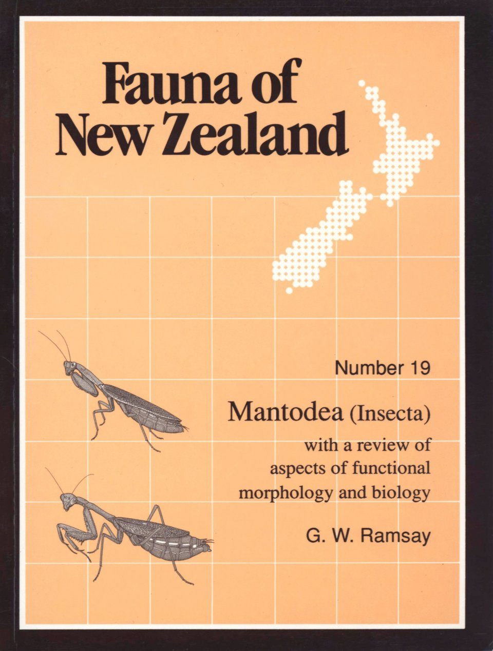 Fauna of New Zealand, No 19: Mantodea (Insecta)