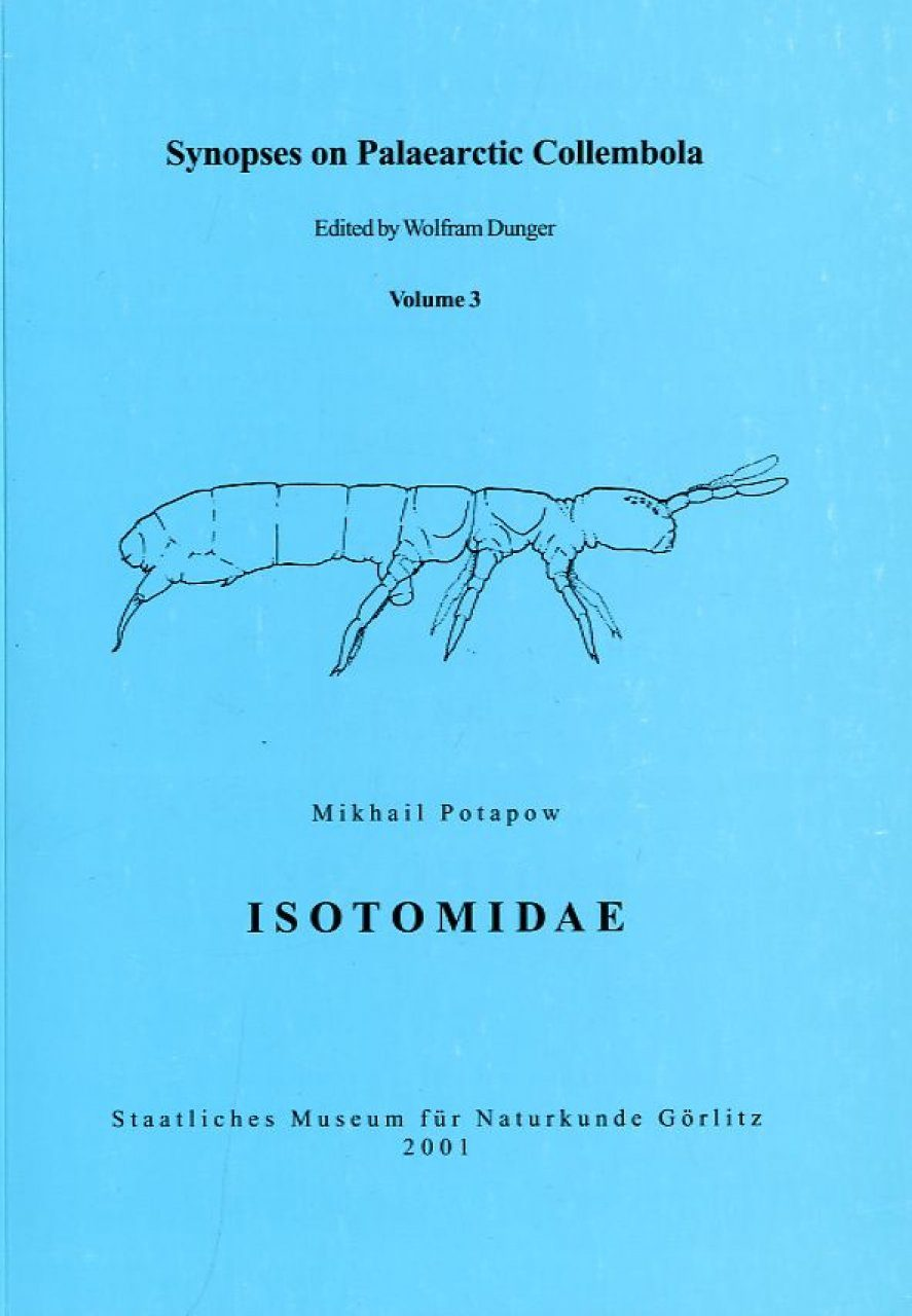 Synopses on Palaearctic Collembola, Volume 3: Isotomidae