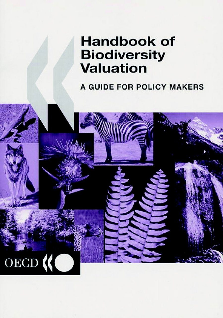 Handbook of Biodiversity Valuation