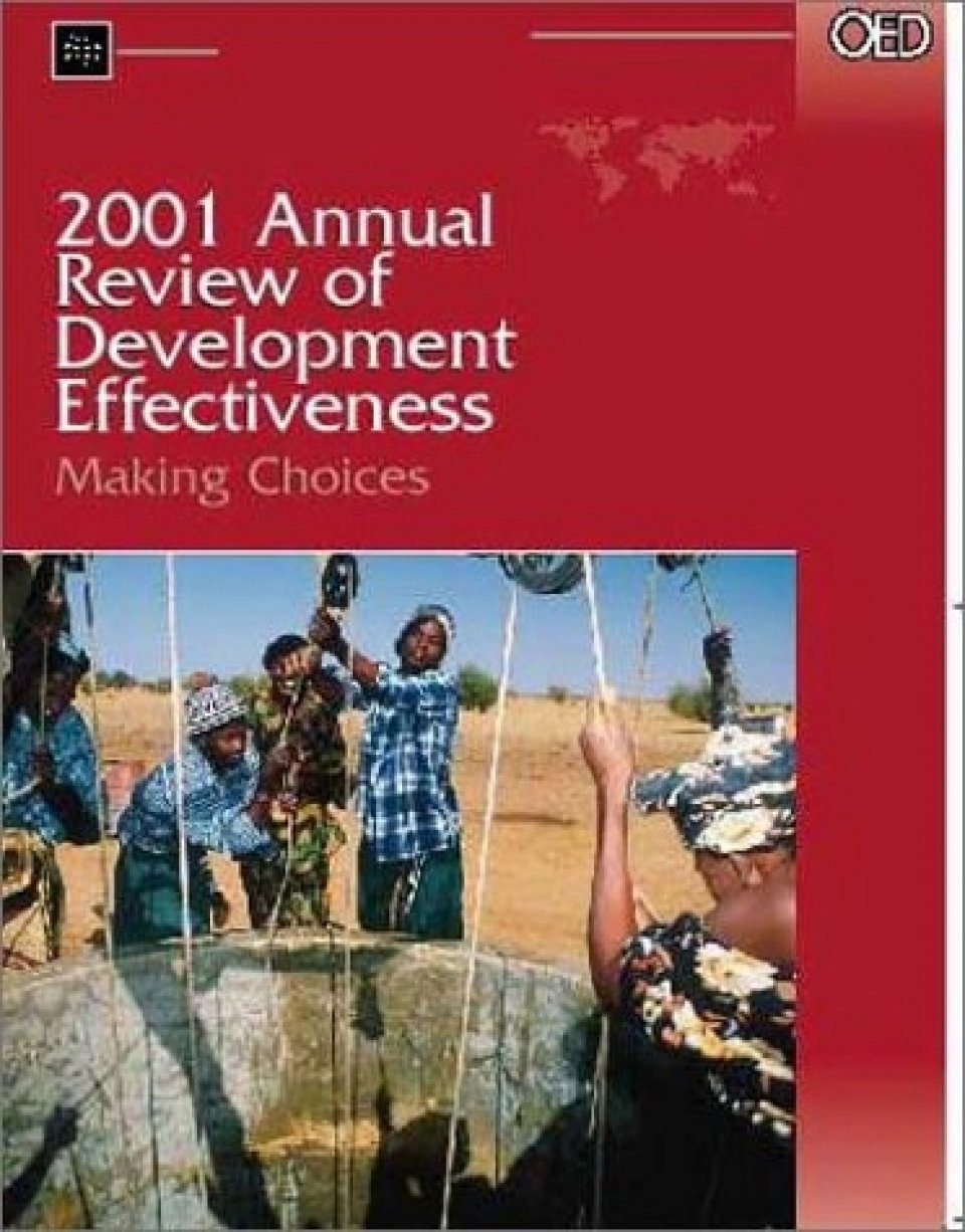 2001 Annual Review of Development Effectiveness