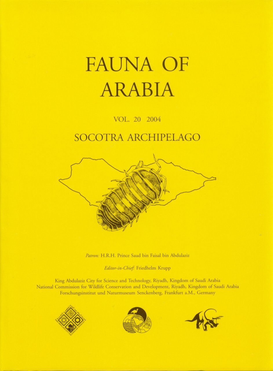 Fauna of Arabia, Volume 20