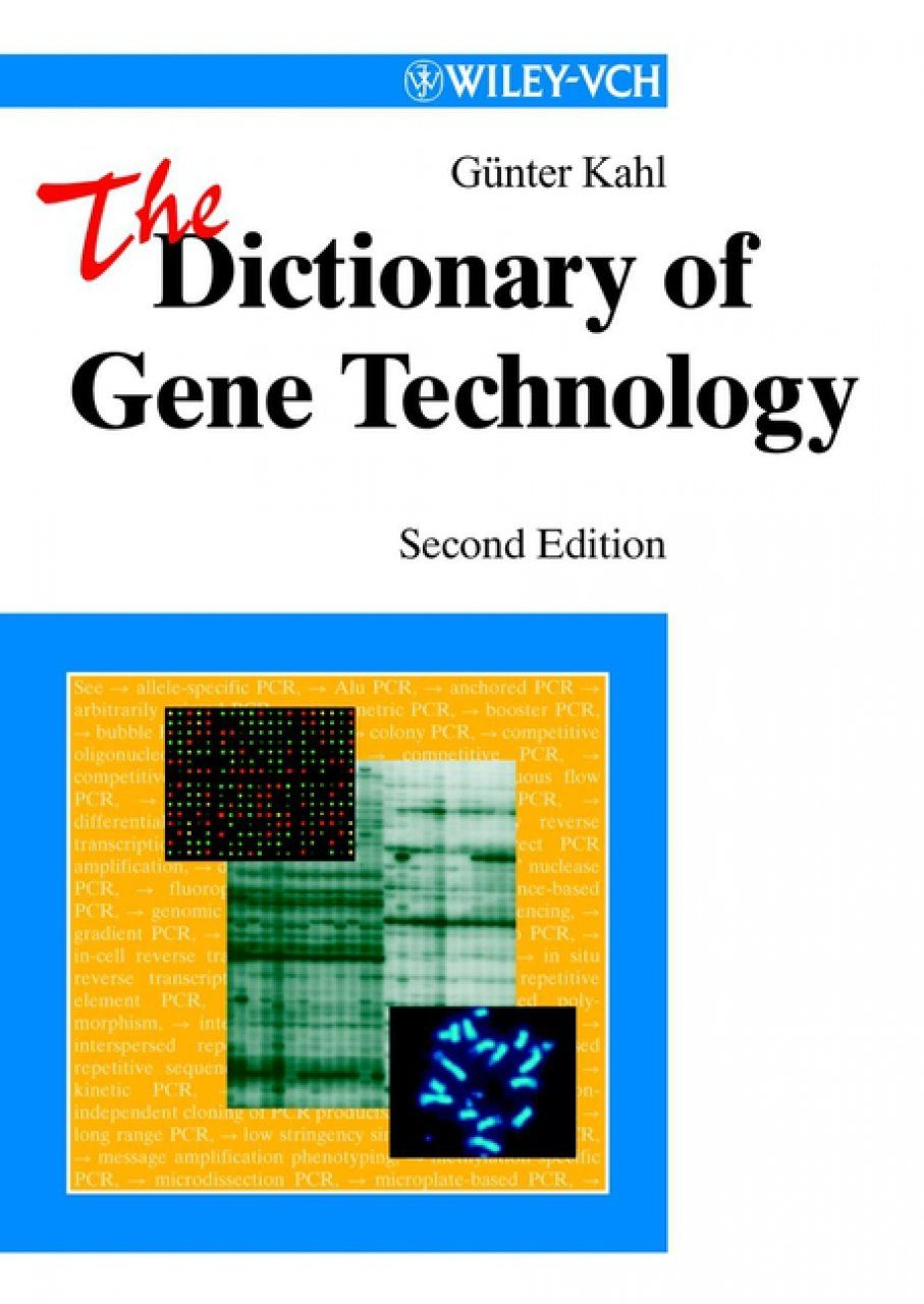 The Dictionary of Gene Technology