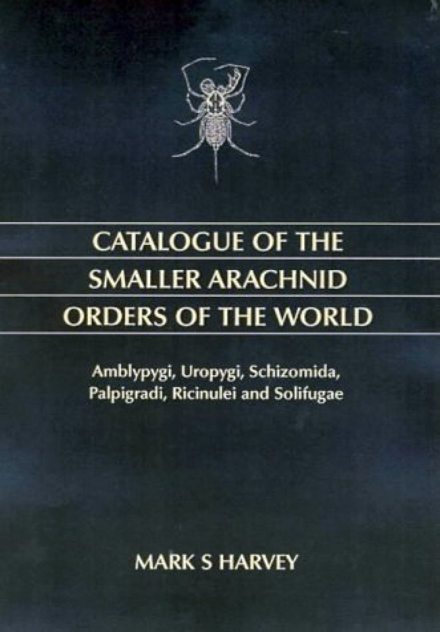 Catalogue of the Smaller Arachnid Orders of the World
