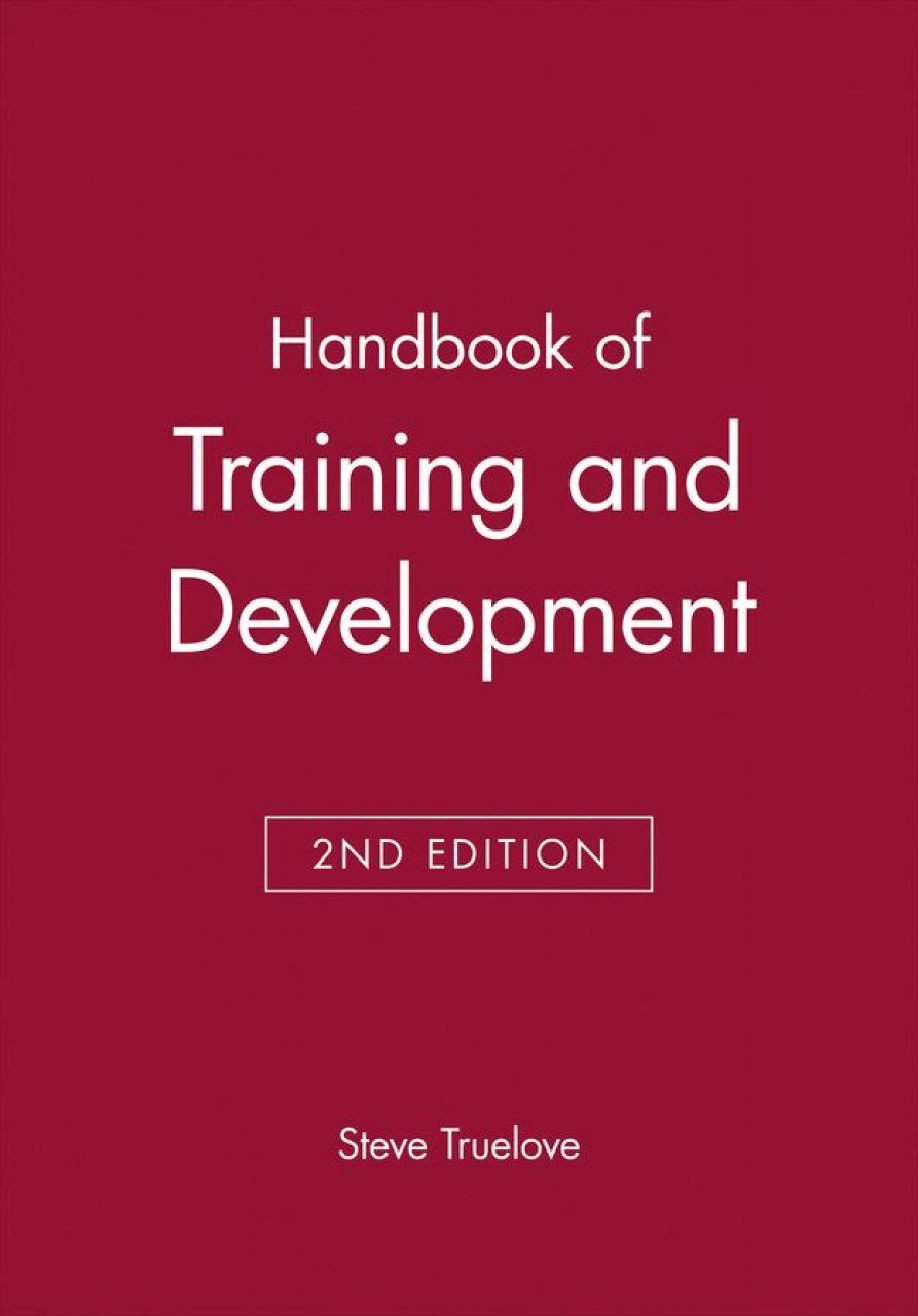 Handbook of Training and Development
