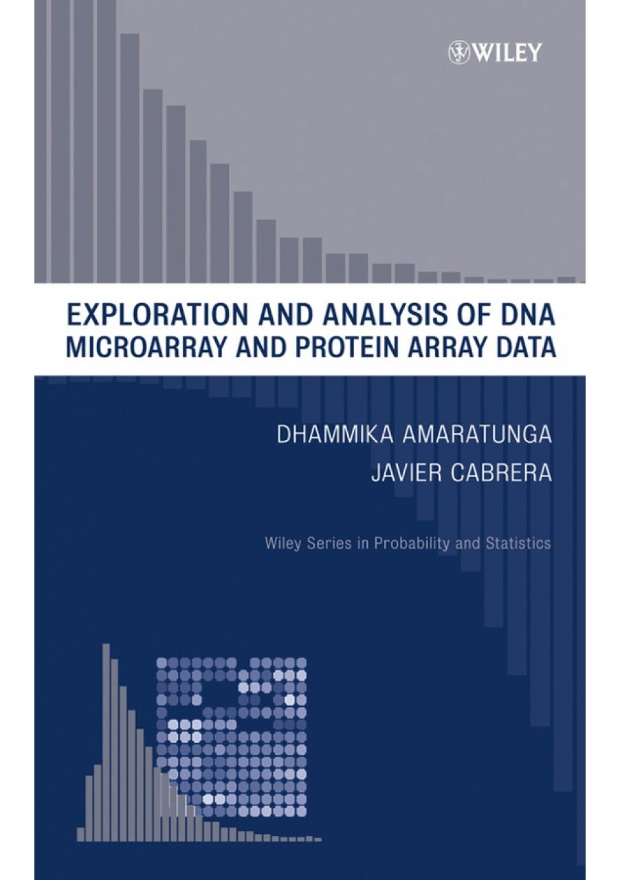 Exploration and Analysis of DNA Microarray and Protein Array Data