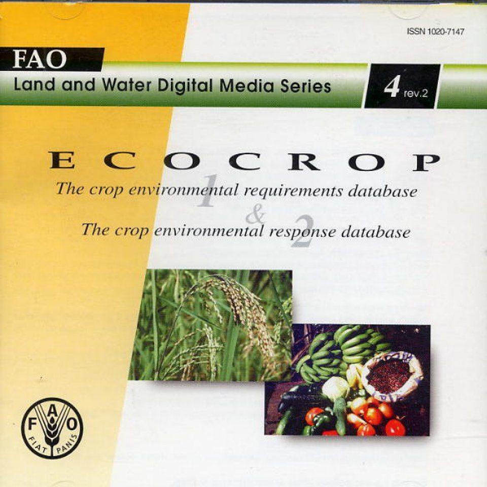 ECOCROP: The Crop Environmental Requirements Database and The Crop Environment Response Database