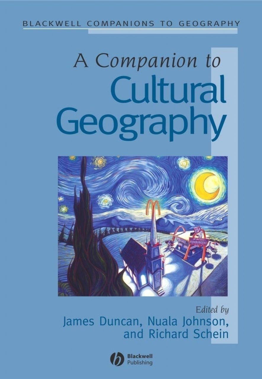 Companion to Cultural Geography