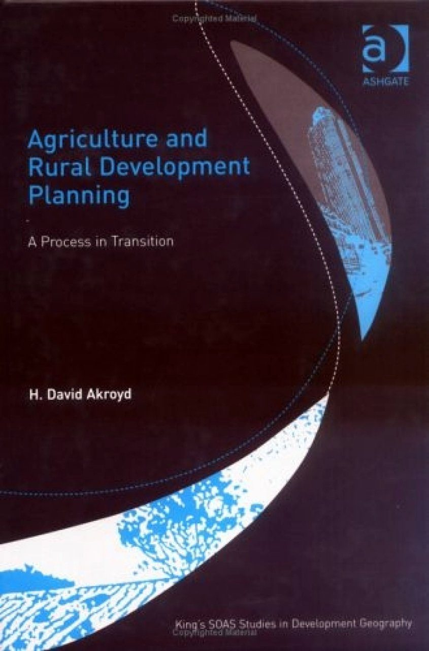 Agriculture and Rural Development Planning