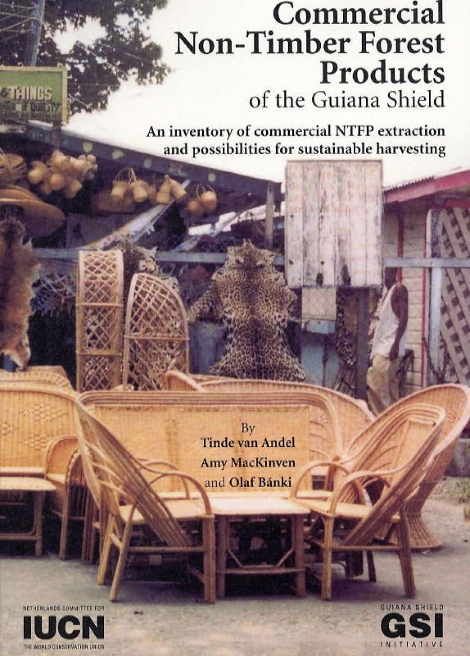 Commercial Non-Timber Forest Products of the Guiana Shield
