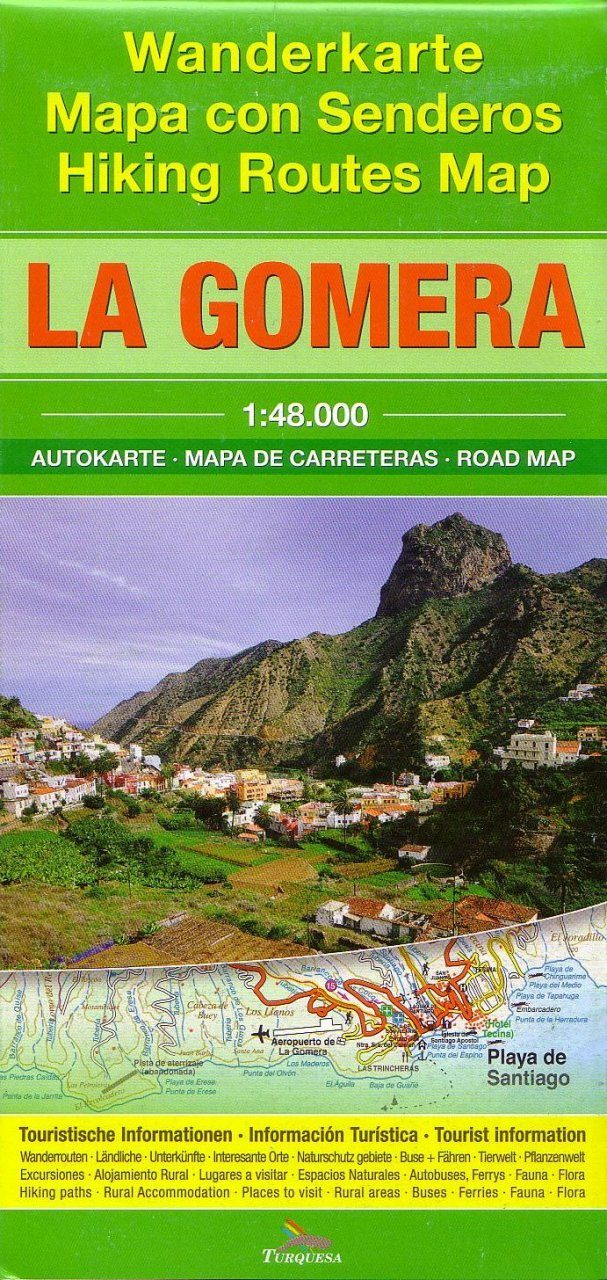 Walking Map of La Gomera