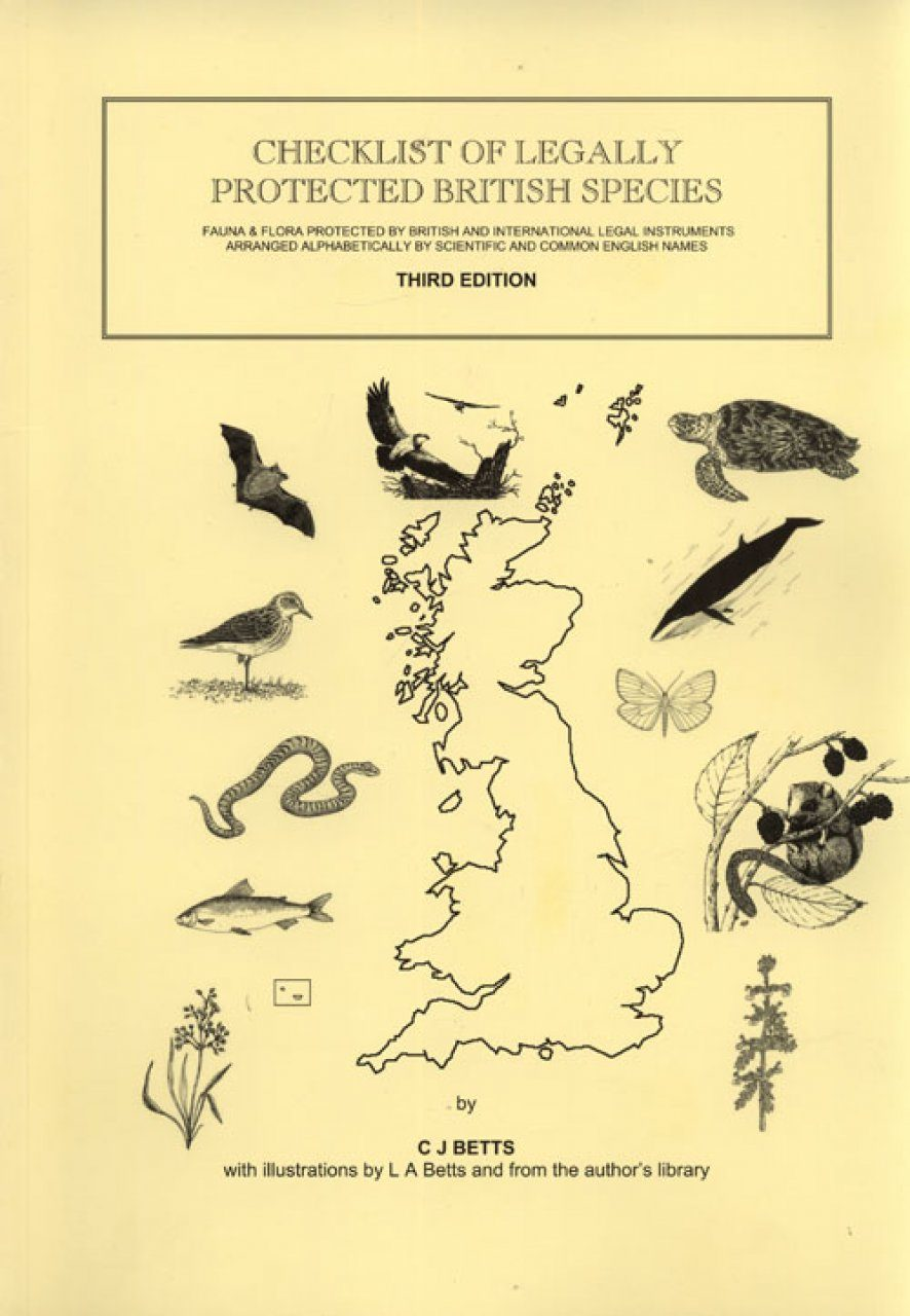 Checklist of Legally Protected British Species