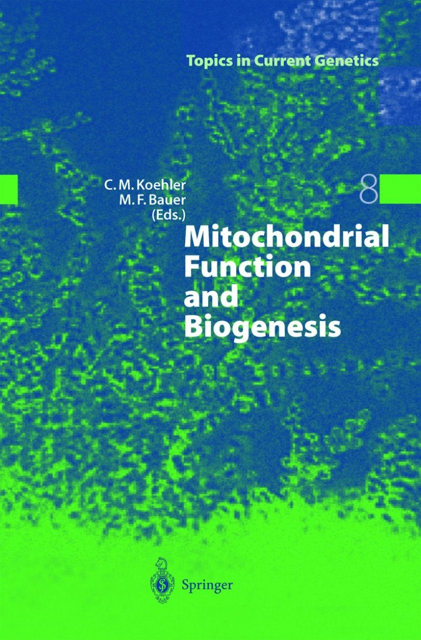 Mitochondrial Function and Biogenesis