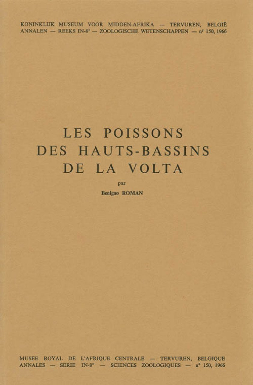 Les Poissons des Hauts-Bassins de la Volta [The Fish of the Upper Basin of the Volta]