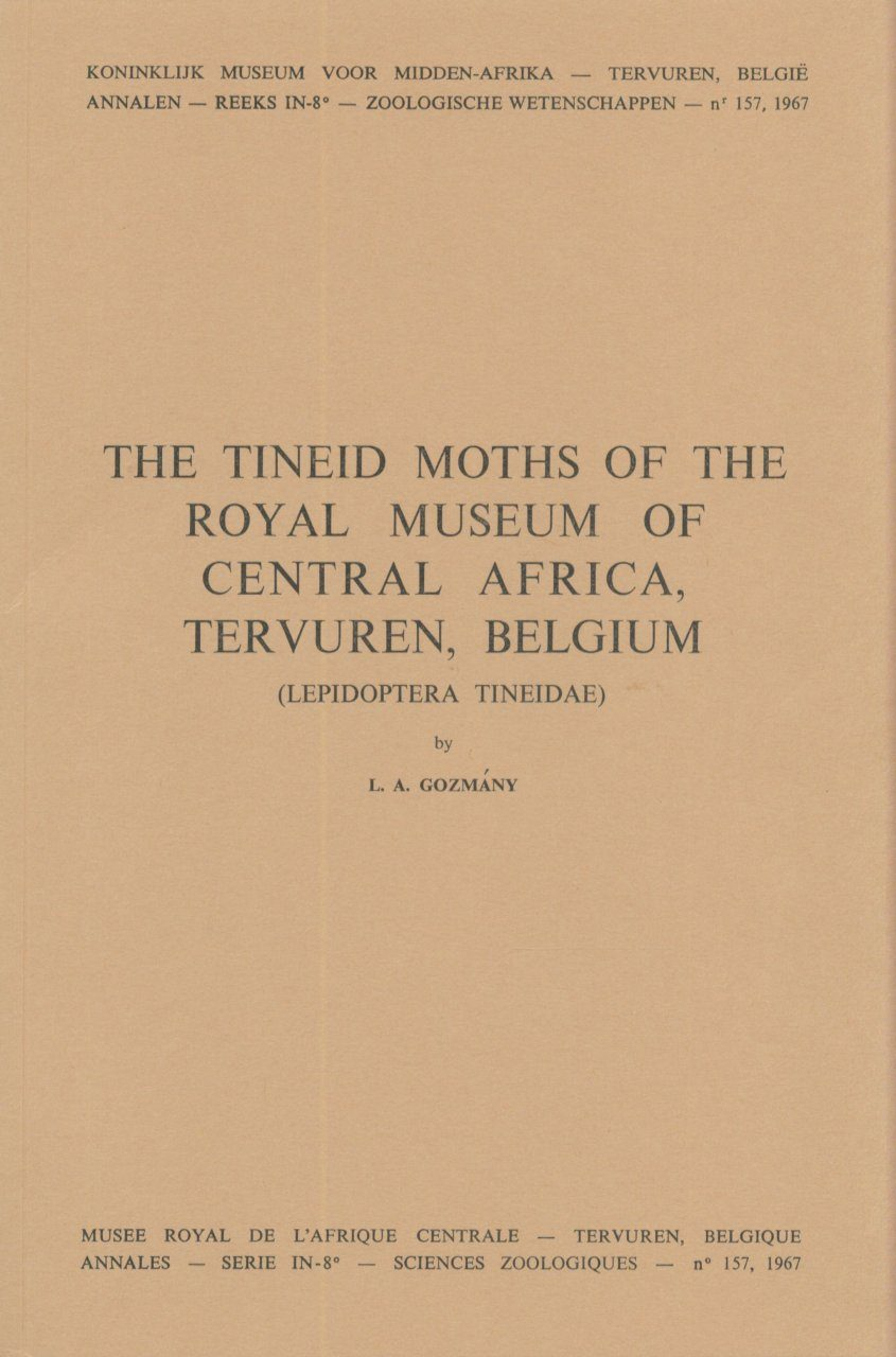 The Tineid Moths of the Royal Museum of Central Africa, Tervuren, Belgium (Lepidoptera, Tineidae)