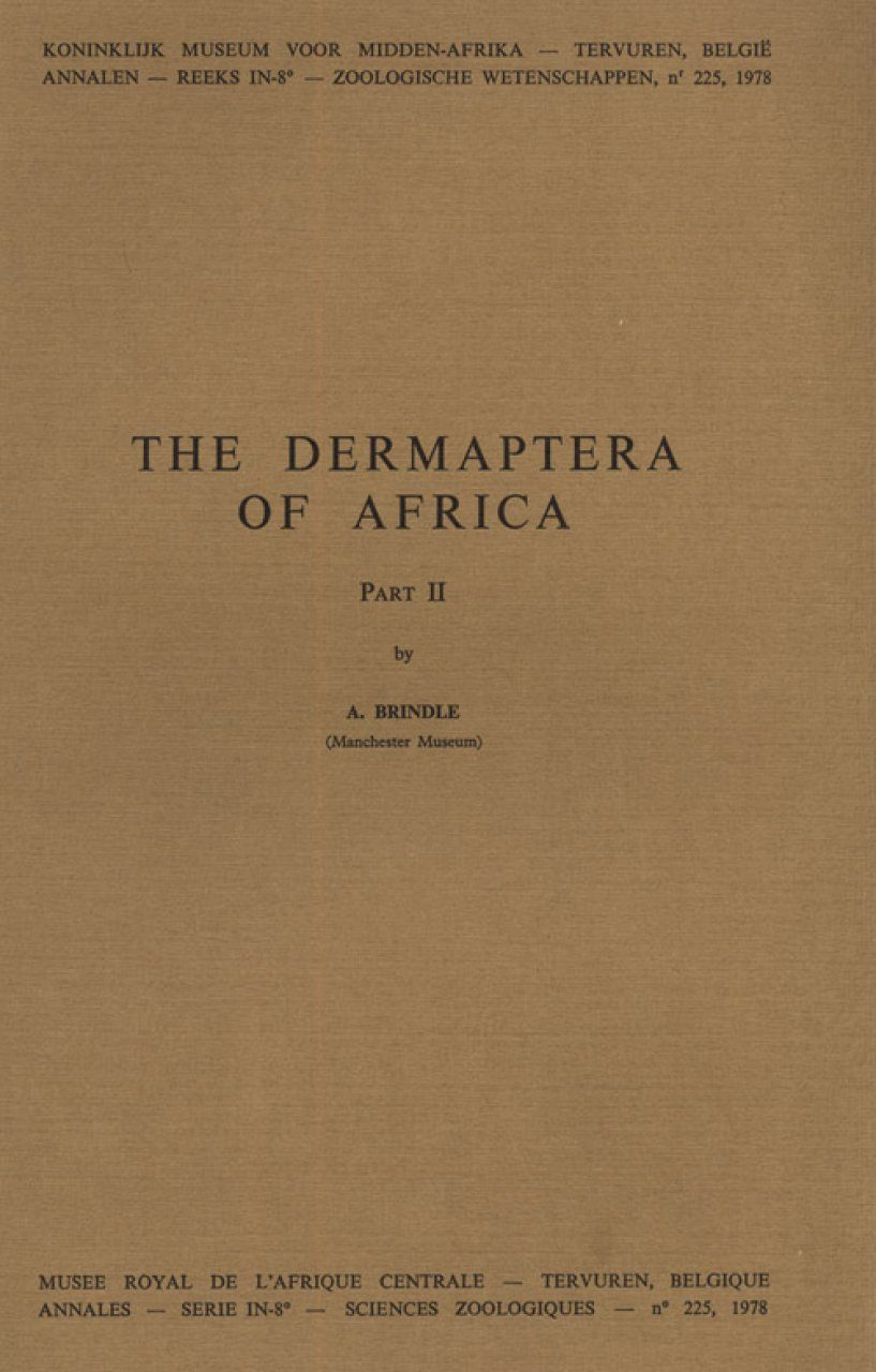 The Dermaptera of Africa, Part II