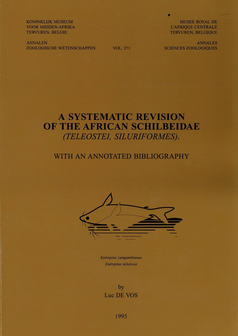 A Systematic Revision of the African Schilbeidae (Teleostei, Siluriformes)