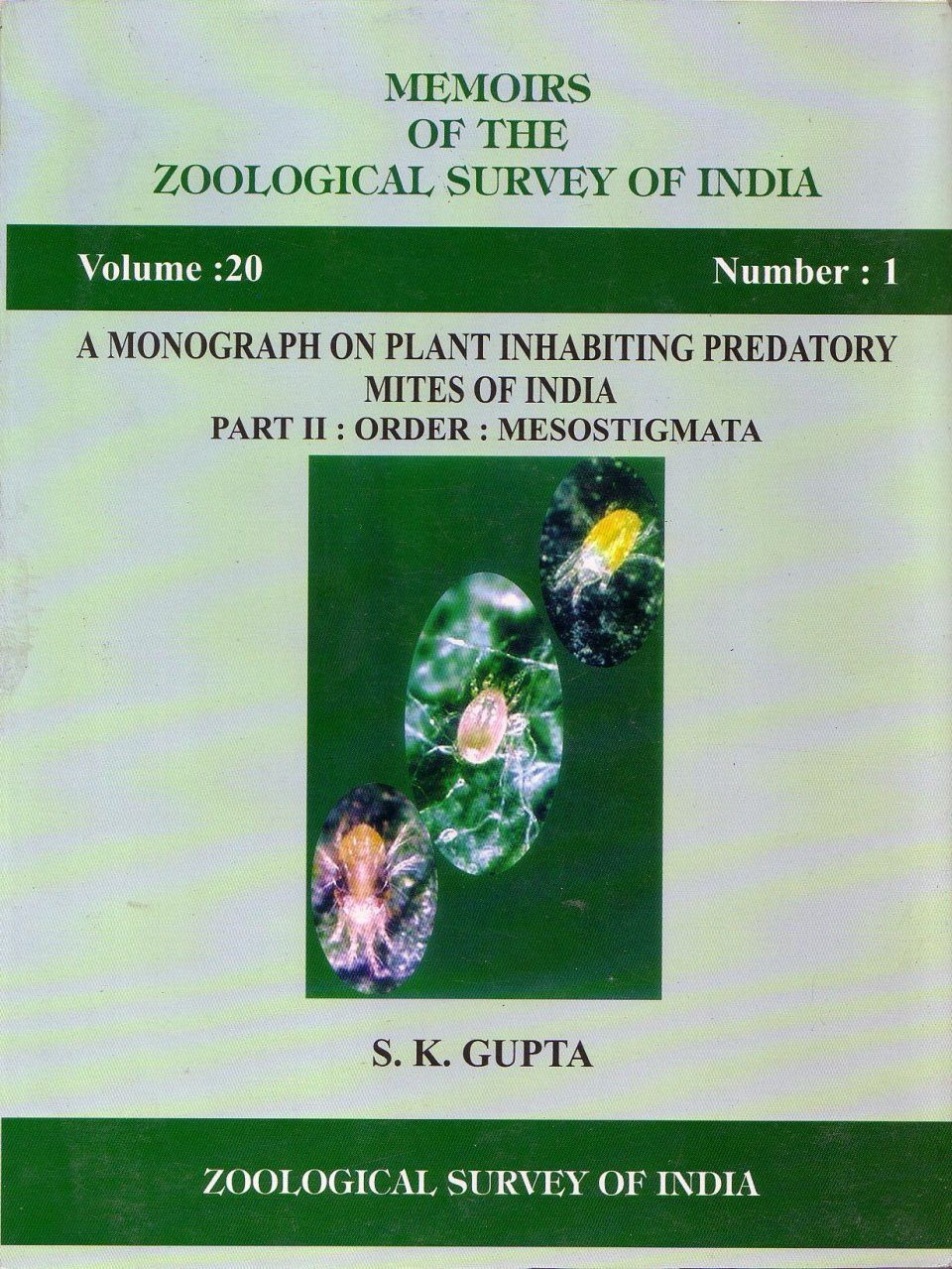 A Monograph on Plant Inhabiting Predatory Mites of India, Part 2