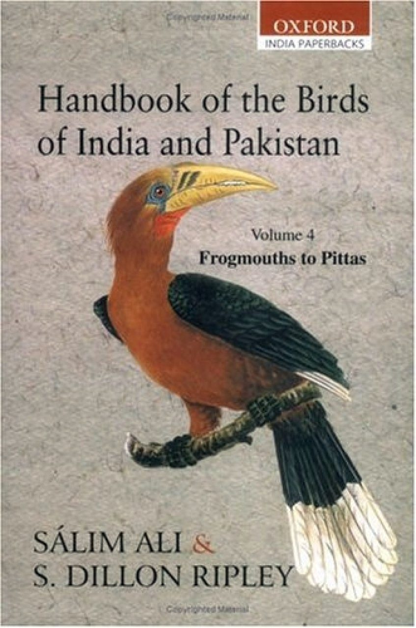 Handbook of the Birds of India and Pakistan, Volume 4