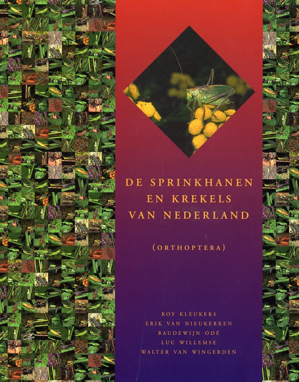 De Sprinkhanen en Krekels van Nederland [Grasshoppers and Crickets from The Netherlands]