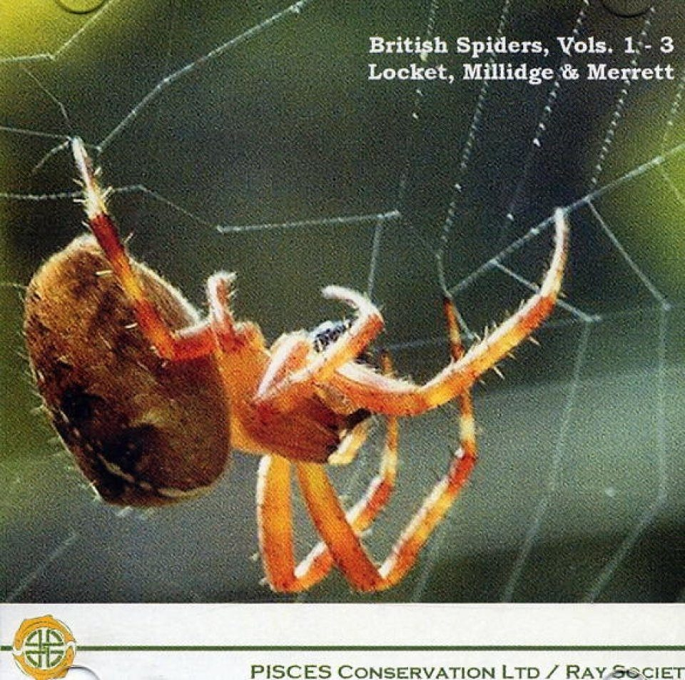 British Spiders, Volumes I - III