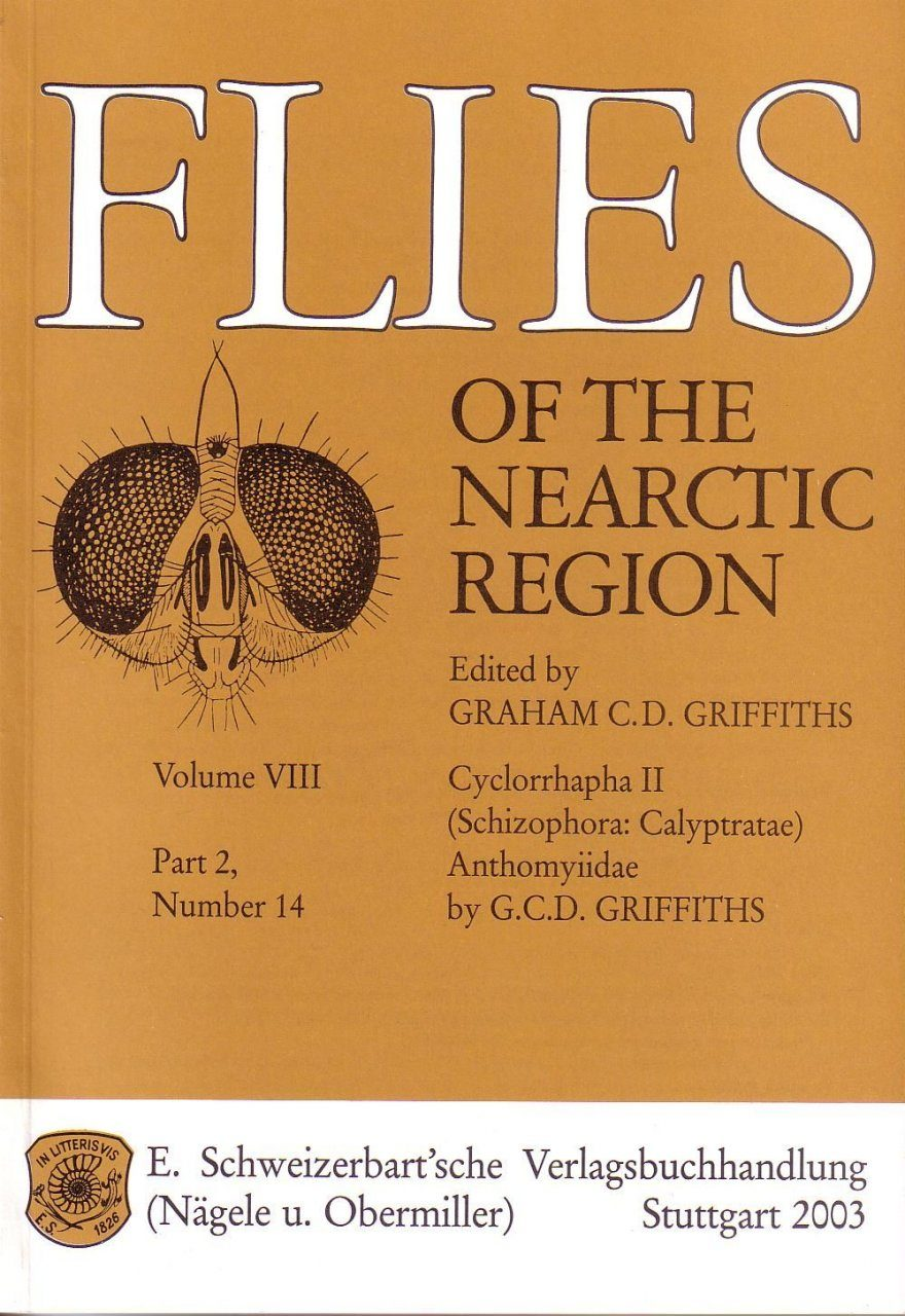Flies of the Nearctic Region, Volume 8: Cyclorrapha II (Schizophora: Calyptratae), Part 2: Anthomyiidae, Number 14