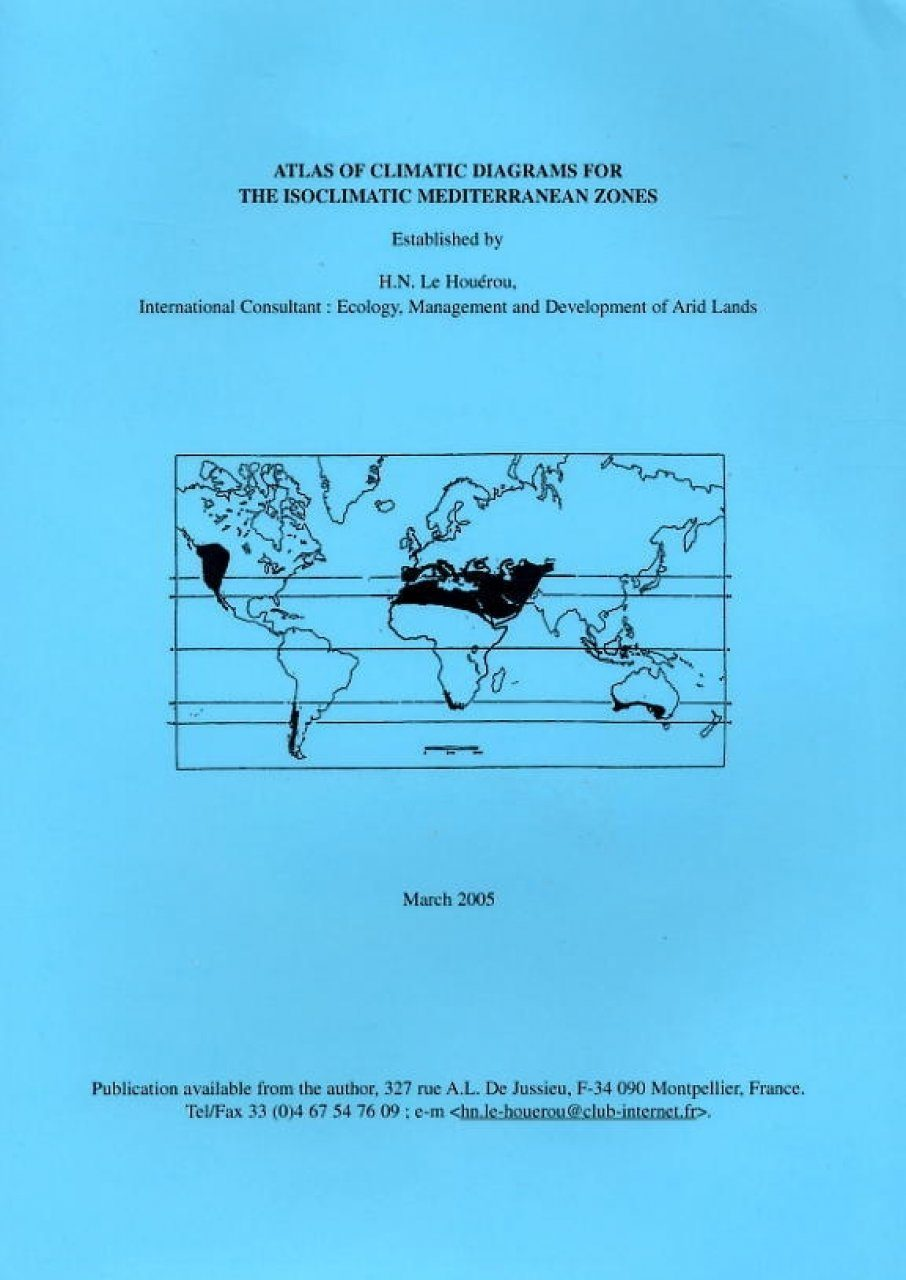 Atlas of Climatic Diagrams for the Isoclimatic Mediterranean Zones