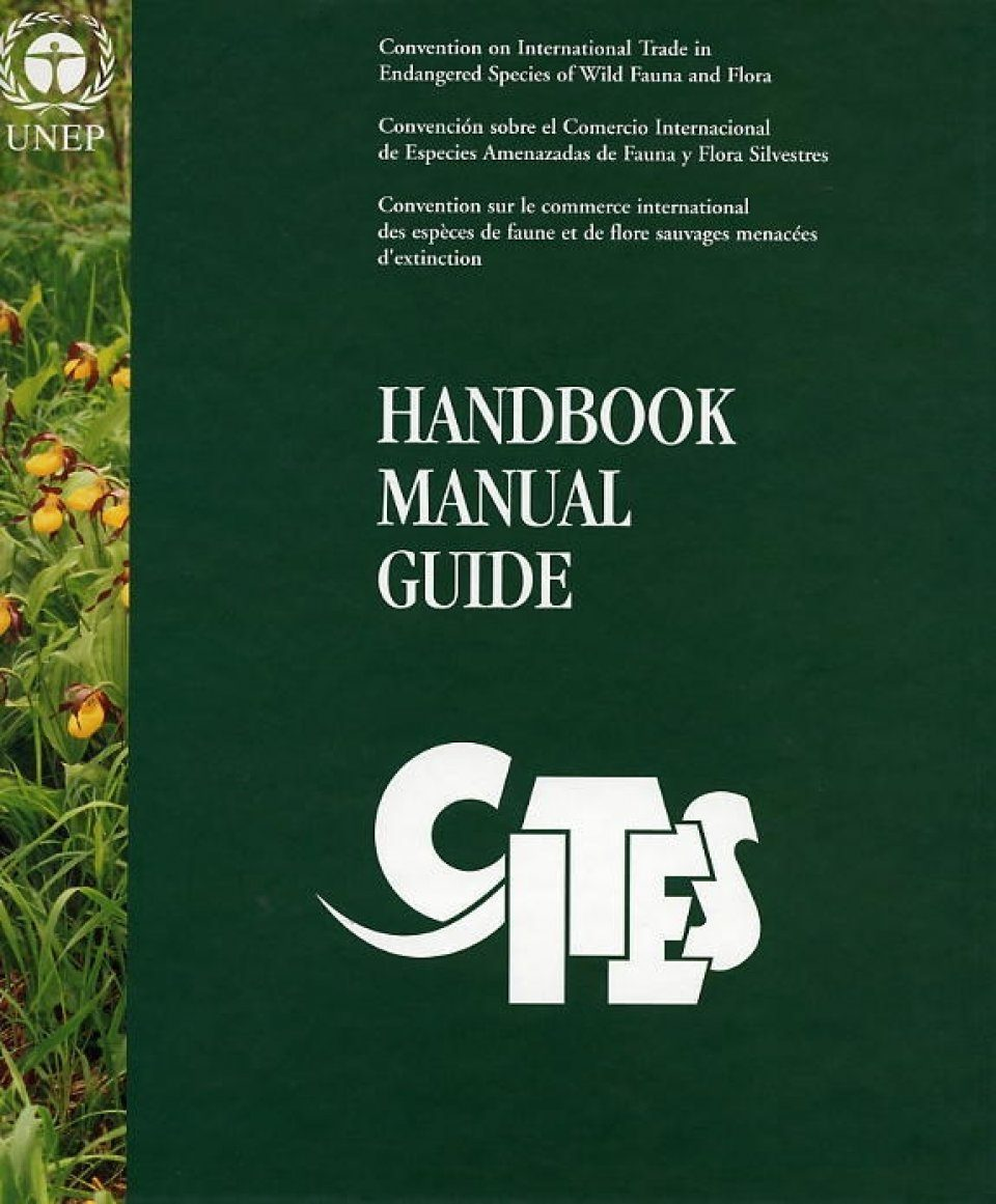 CITES Handbook Manual Guide [French]