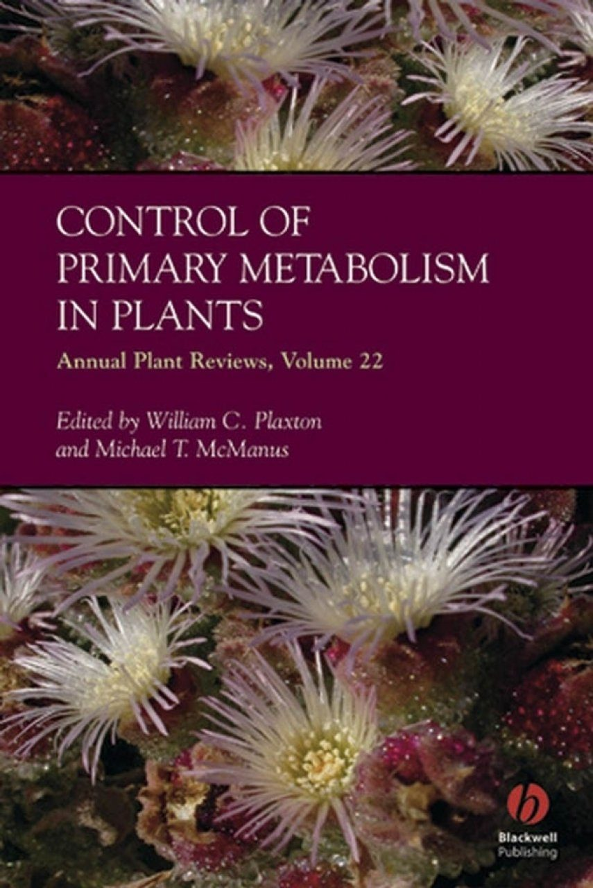 Control of Primary Metabolism in Plants