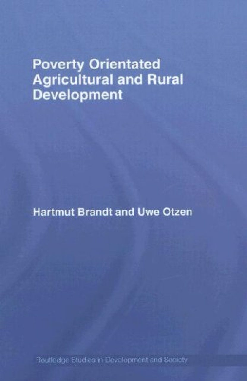 Poverty Orientated Agricultural and Rural Development