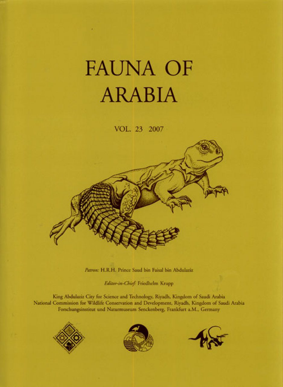 Fauna of Arabia, Volume 23