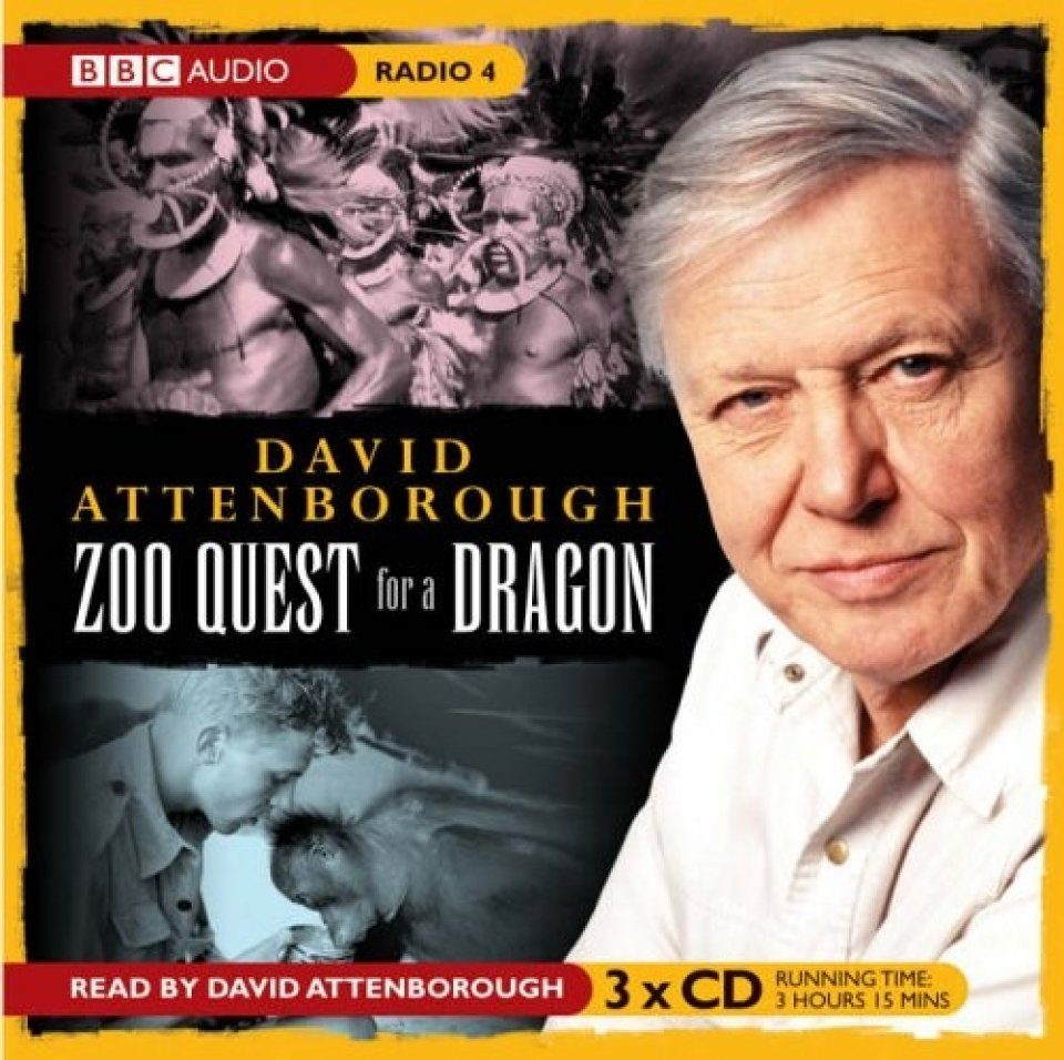 David Attenborough - The Early Years: Zoo Quest for a Dragon (3CD)