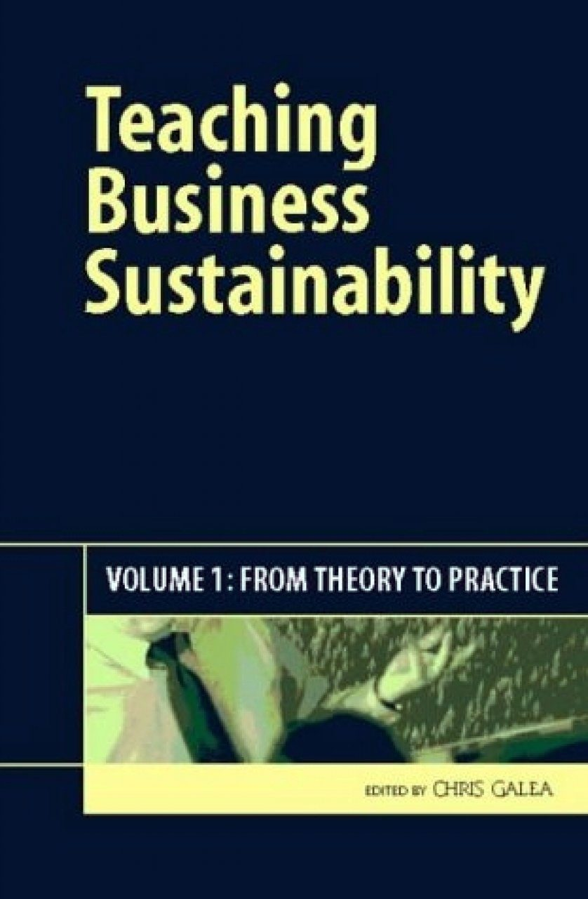Teaching Business Sustainability