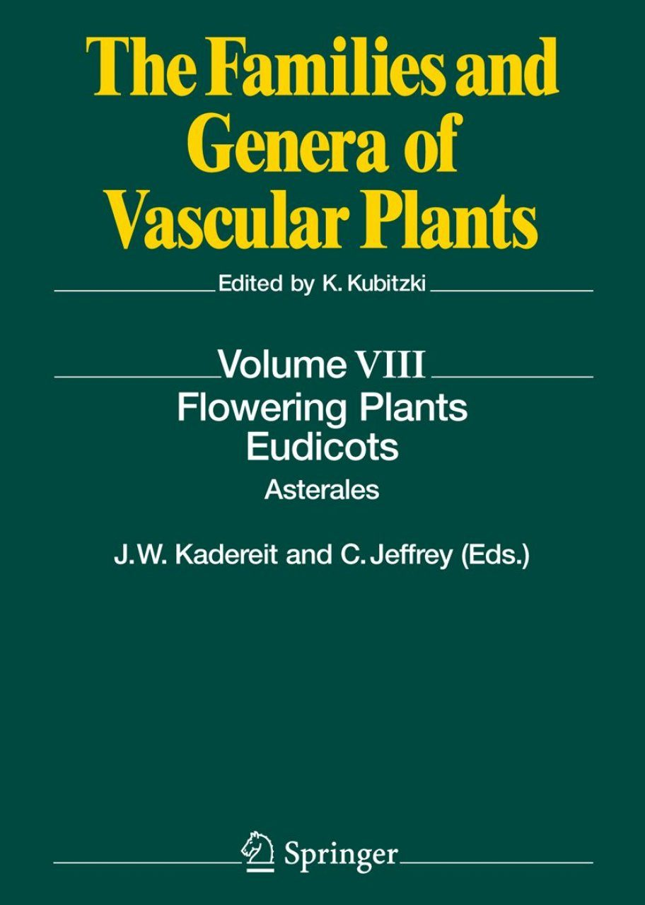 The Families And Genera Of Vascular Plants Volume 8 border=