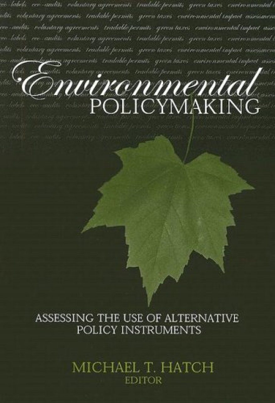 Environmental Policymaking