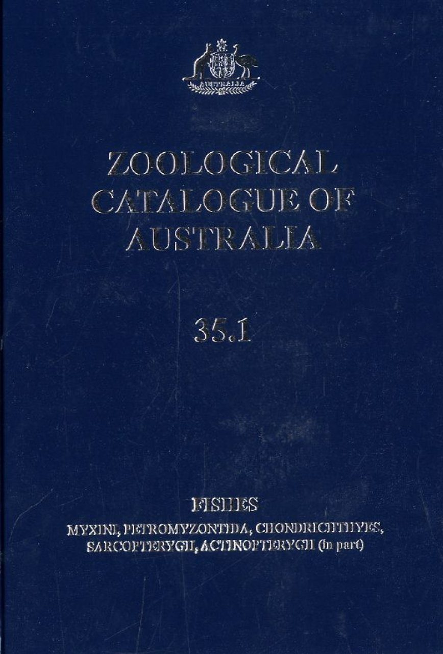 Zoological Catalogue of Australia, Volume 35, Parts 1 - 3: Fishes (3-Volume Set)