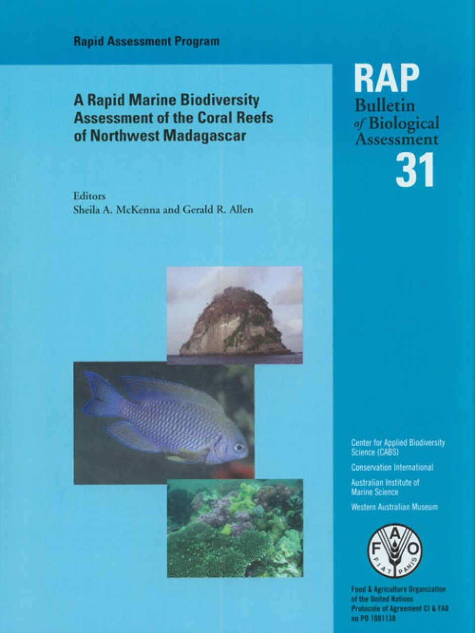 A Rapid Marine Biodiversity Assessment of the Coral Reefs of Northwest Madagascar