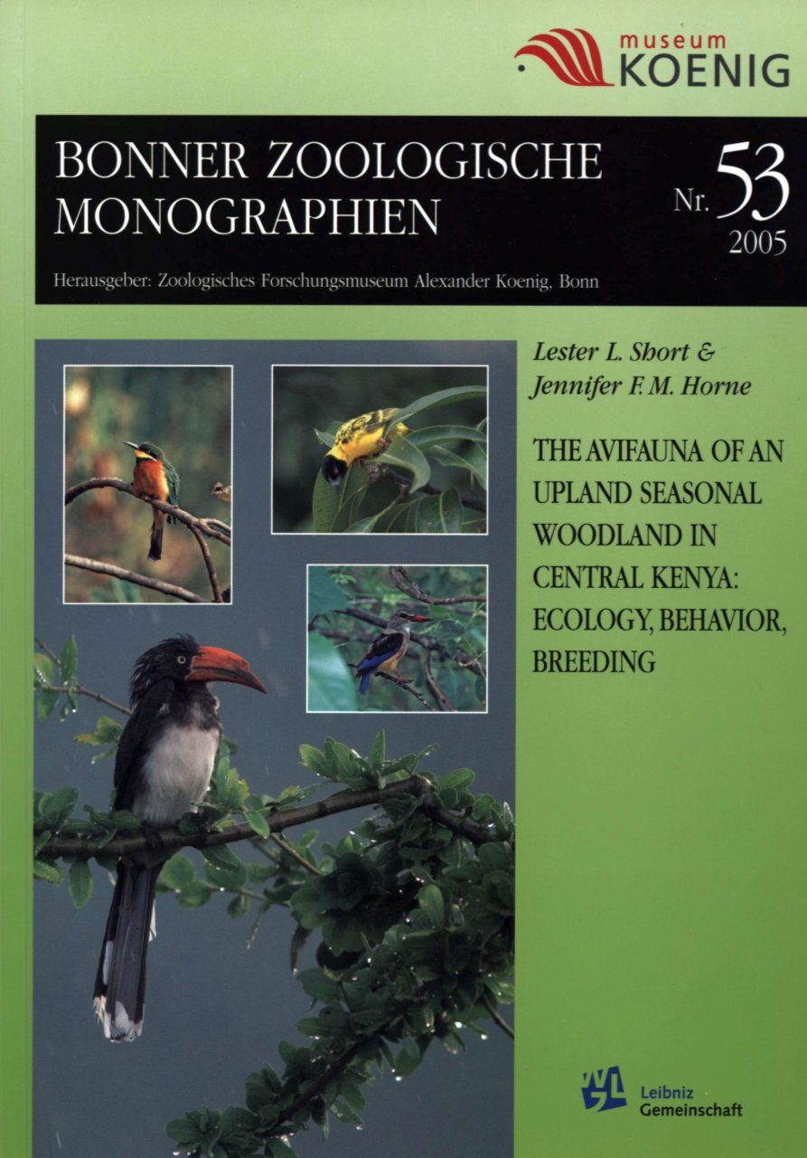 The Avifauna of an Upland Seasonal Woodland in Central Kenya